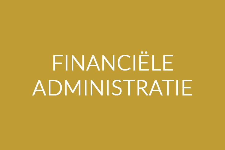 Financiele administratie | Saemen Werken