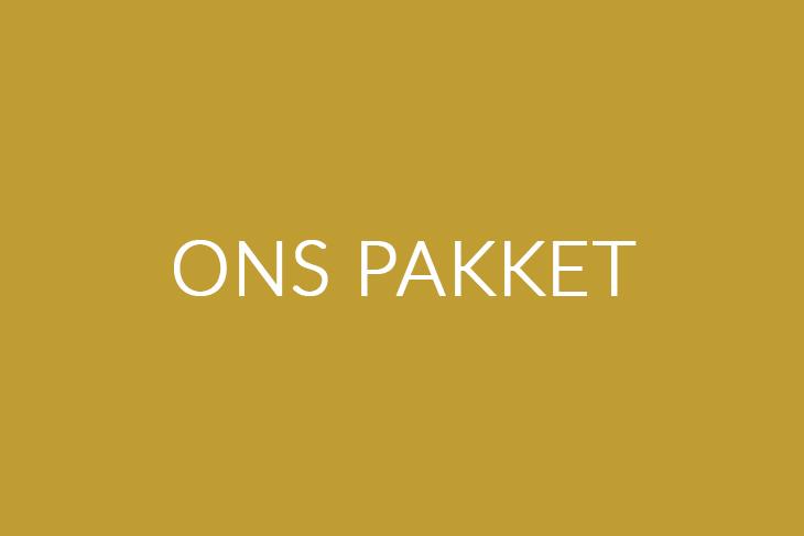 Ons pakket | Saemen Werken